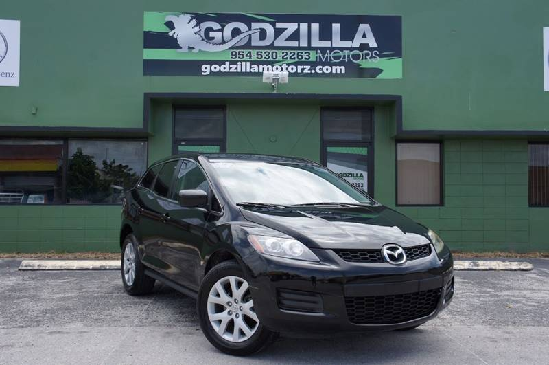 2007 MAZDA CX-7 GRAND TOURING black turbocharged inline 4 need i say more  you wont believ