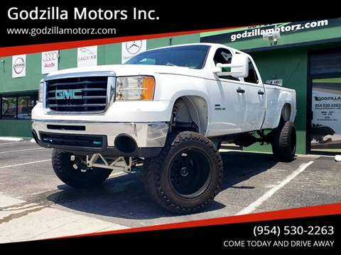 2010 GMC Sierra 2500HD for sale in Fort Lauderdale, FL
