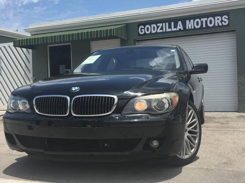 2008 BMW 7 SERIES 750LI 4DR SEDAN black this one is ready to drive home and show off done wa