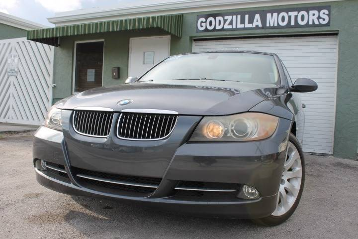 2007 BMW 3 SERIES 335I 4DR SEDAN gray twin turbocharged 30 inline v6  this hard to find bmw