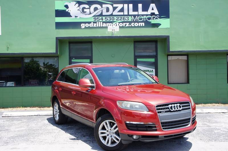 2008 AUDI Q7 36 PREMIUM QUATTRO red this one is ready to drive home and show off dont wait