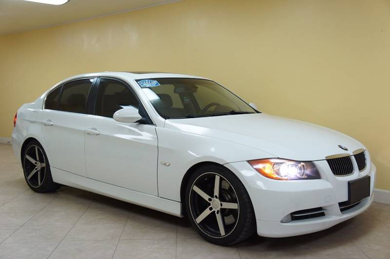 2008 BMW 3 SERIES 335I 4DR SEDAN SA white this one is ready to drive home and show off dont