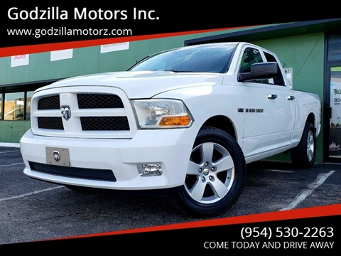 2012 RAM Ram Pickup 1500 for sale in Fort Lauderdale, FL