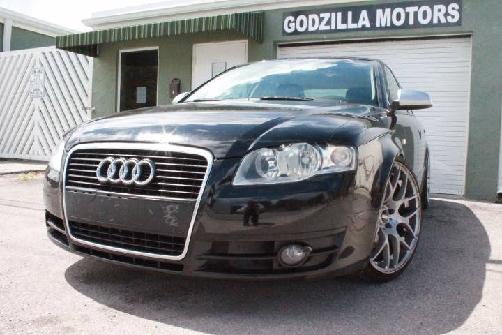 2007 AUDI A4 20T 4DR SEDAN 2L I4 CVT black this one is ready to drive home and show off d