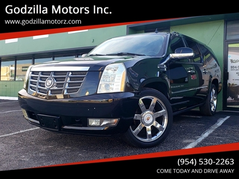 2008 Cadillac Escalade ESV for sale in Fort Lauderdale, FL
