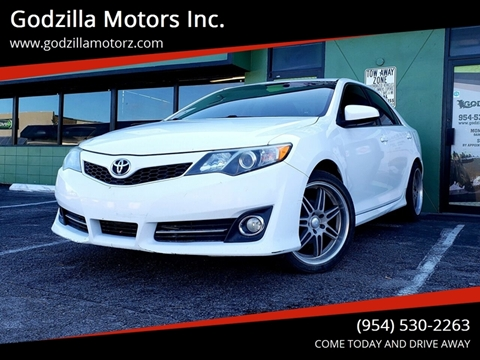 2013 Toyota Camry For Sale >> 2013 Toyota Camry For Sale In Fort Lauderdale Fl