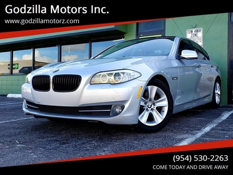 2013 BMW 5 Series for sale in Fort Lauderdale, FL