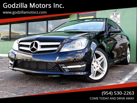 2012 Mercedes-Benz C-Class for sale in Fort Lauderdale, FL