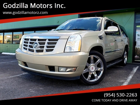 2007 Cadillac Escalade ESV for sale in Fort Lauderdale, FL