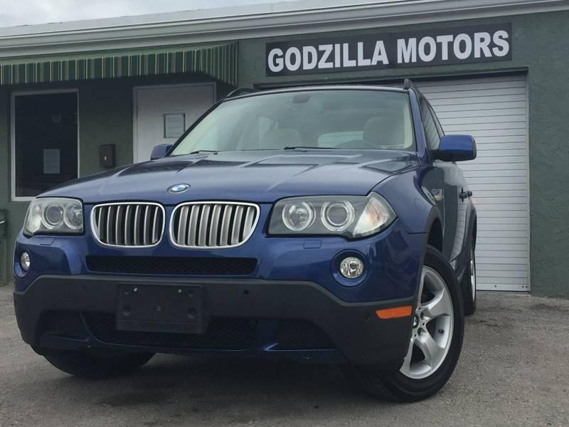 2008 BMW X3 30SI AWD 4DR SUV blue exhaust - dual tip cargo tie downs door handle color - body-