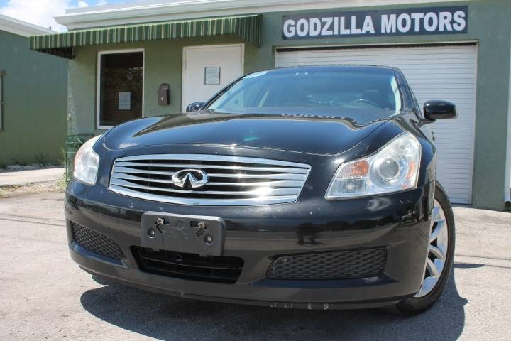 2008 INFINITI G35 X AWD 4DR SEDAN black this one is ready to drive home and show off dont wa