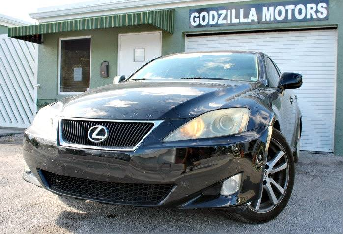 2007 LEXUS IS 250 BASE 4DR SEDAN 25L V6 6M black this one is ready to drive home and show off