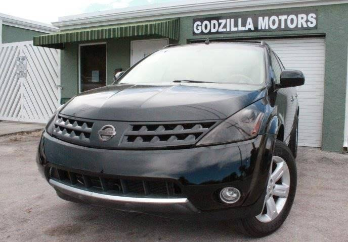 2007 NISSAN MURANO SL 4DR SUV black this one is ready to drive home and show off dont wait t