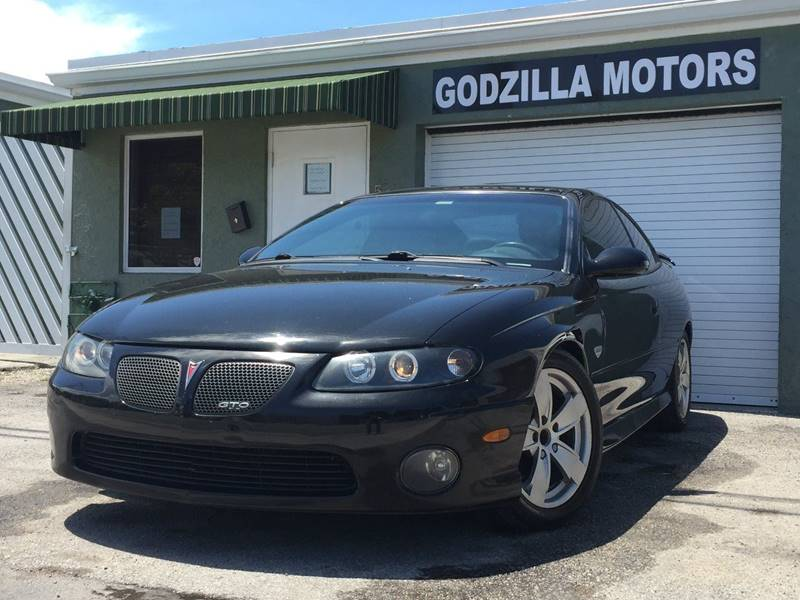 2004 PONTIAC GTO BASE 2DR COUPE black this one is ready to drive home and show off dont wait