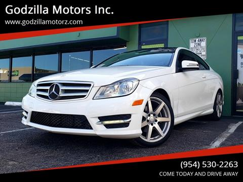 2013 Mercedes-Benz C-Class for sale in Fort Lauderdale, FL