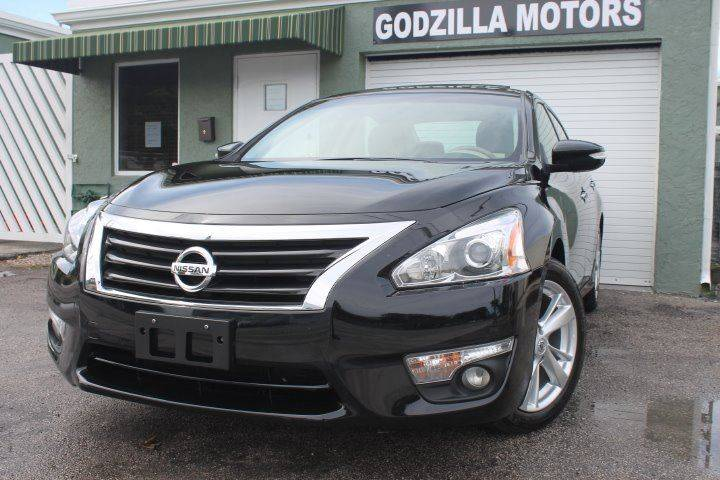 2014 NISSAN ALTIMA 25 SL 4DR SEDAN black this one is ready to drive home and show off dont w