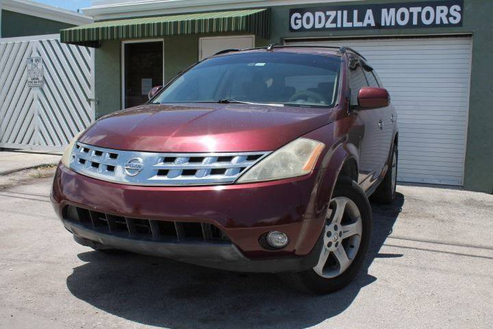 2005 NISSAN MURANO S 4DR SUV burgundy this one is ready to drive home and show off dont wait