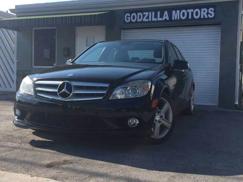 2010 MERCEDES-BENZ C-CLASS C300 LUXURY 4MATIC AWD 4DR SEDAN black this one is ready to drive home