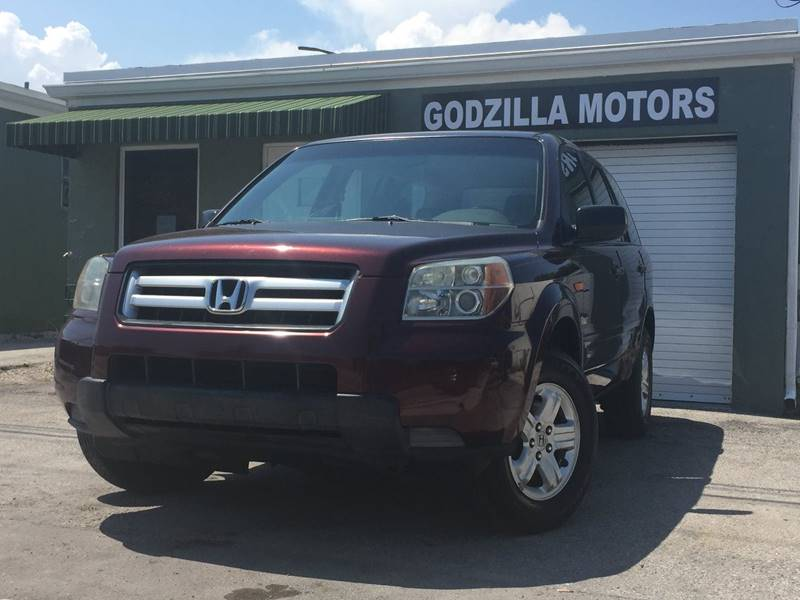 2007 HONDA PILOT LX 4DR SUV burgundy this one is ready to drive home and show off dont wait t