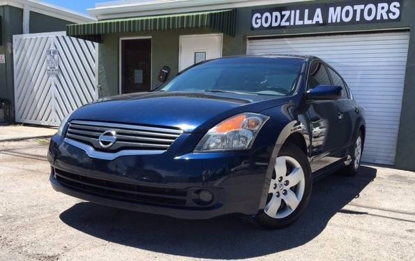 2007 NISSAN ALTIMA 25 S 4DR SEDAN 25L I4 6M blue this one is ready to drive home and show off