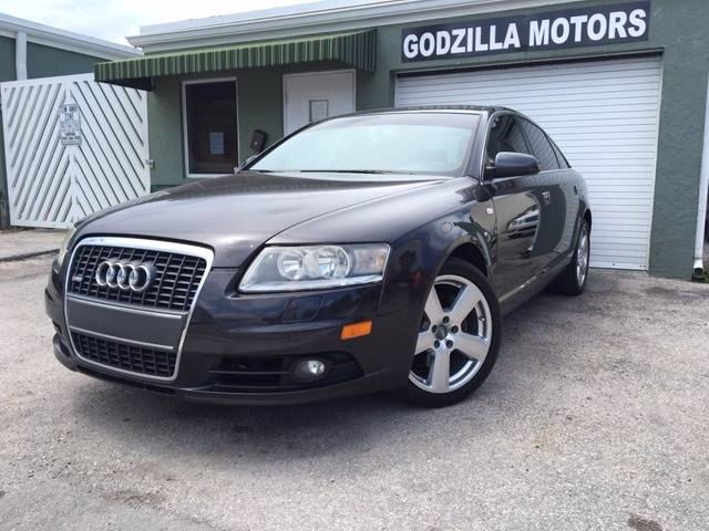 2008 AUDI A6 32 4DR SEDAN black this one is ready to drive home and show off dont wait to c