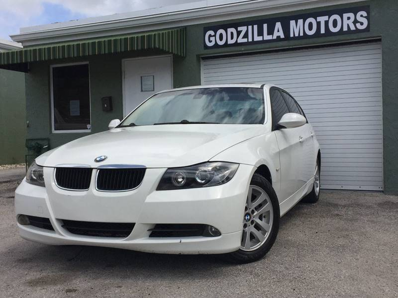 2007 BMW 3 SERIES 328I 4DR SEDAN white cargo tie downs air filtration - active charcoal armrest
