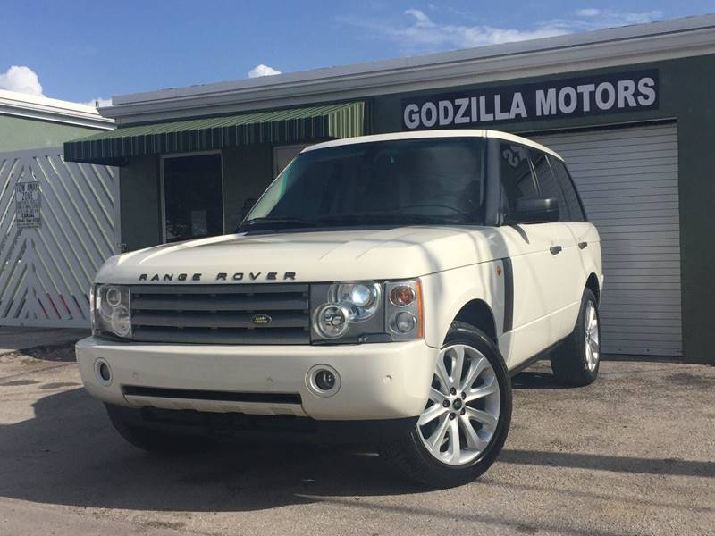 2005 LAND ROVER RANGE ROVER HSE 4WD 4DR SUV white this one is ready to drive home and show off