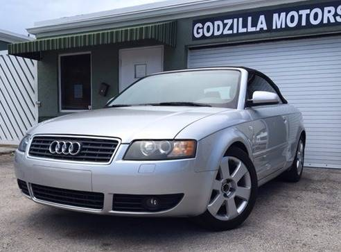 2006 AUDI A4 18T 2DR CONVERTIBLE silver this one is ready to drive home and show off dont w