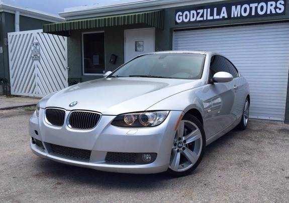 2007 BMW 3 SERIES 335I 2DR COUPE silver the new 335i coupe is a perfect combination it is as fas
