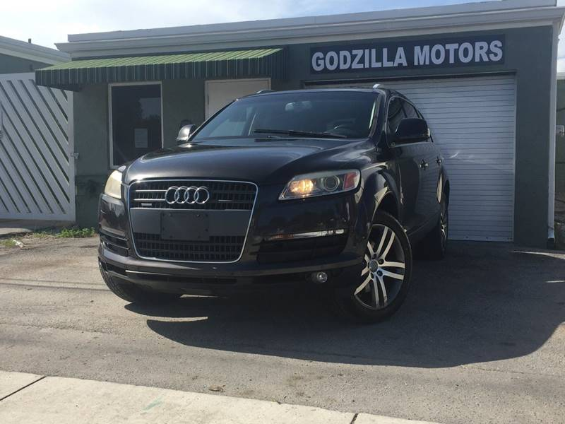 2008 AUDI Q7 36 PREMIUM QUATTRO AWD 4DR SUV charcoal this one is ready to drive home and show of