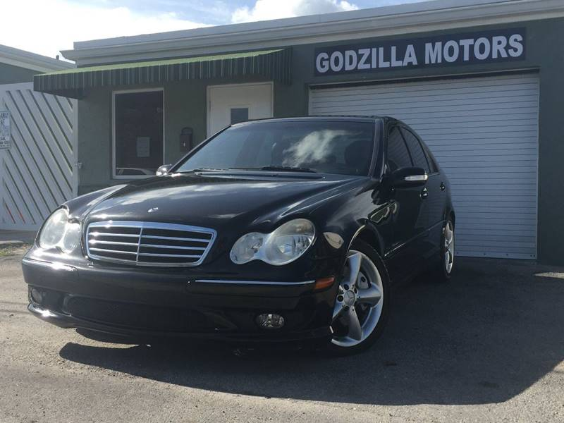 2006 MERCEDES-BENZ C-CLASS C230 SPORT 4DR SEDAN black this one is ready to drive home and show of