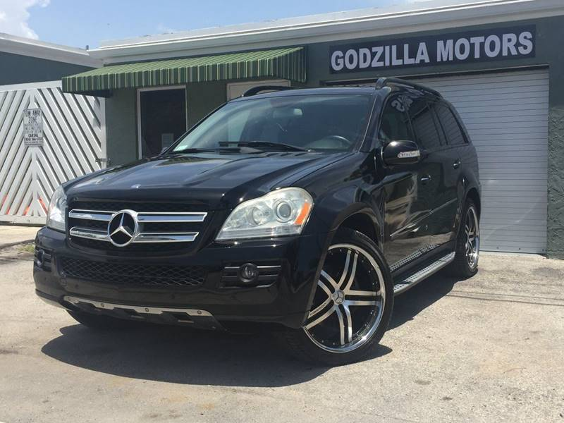 2008 MERCEDES-BENZ GL-CLASS GL450 4MATIC AWD 4DR SUV black cargo tie downs air filtration - activ