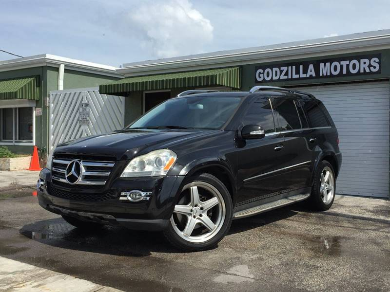 2008 MERCEDES-BENZ GL-CLASS GL550 4MATIC AWD 4DR SUV black running boards - step cargo tie downs