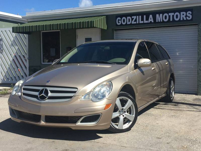 2006 MERCEDES-BENZ R-CLASS R350 AWD 4MATIC 4DR WAGON champagne air filtration armrests - rear fo