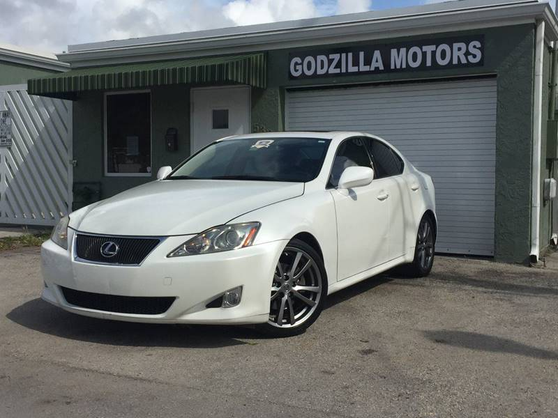 2008 LEXUS IS 250 BASE 4DR SEDAN 6A white door handle color - body-color front bumper color - bo