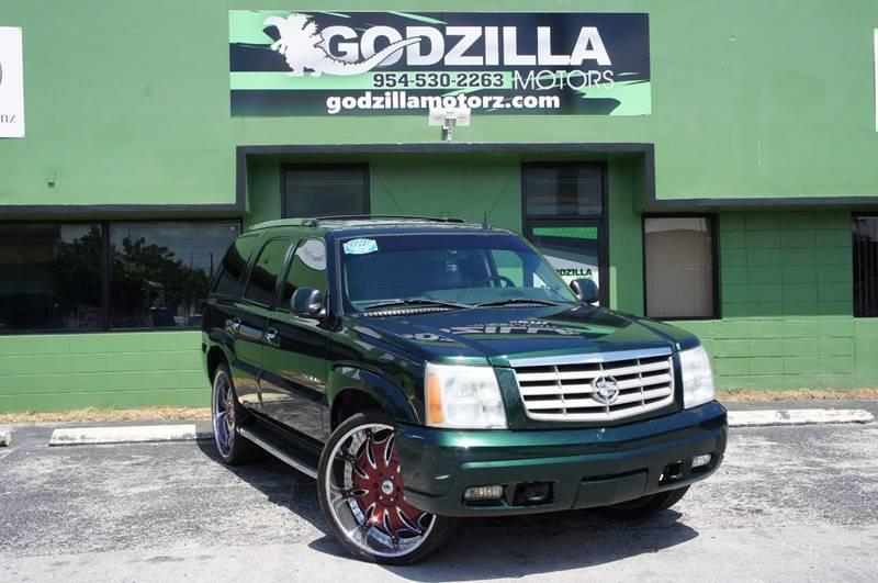 2003 CADILLAC ESCALADE BASE RWD 4DR SUV green this amazing 2003 cadillac escalade contains clean
