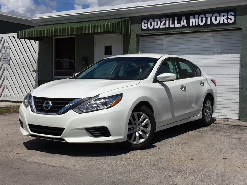 2016 NISSAN ALTIMA 25 SL 4DR SEDAN white exhaust - dual tip active grille shutters door handle