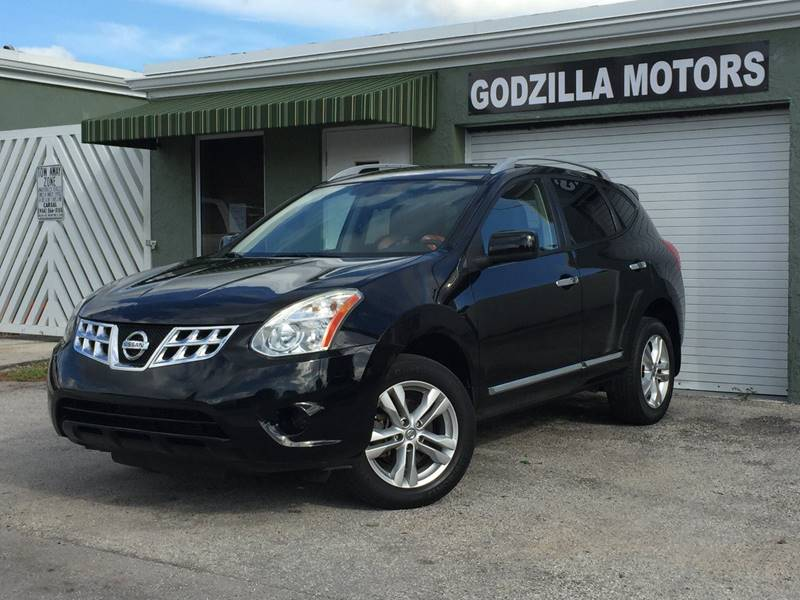 2013 NISSAN ROGUE SV WSL PACKAGE 4DR CROSSOVER black rear spoiler - roofline body side moldings
