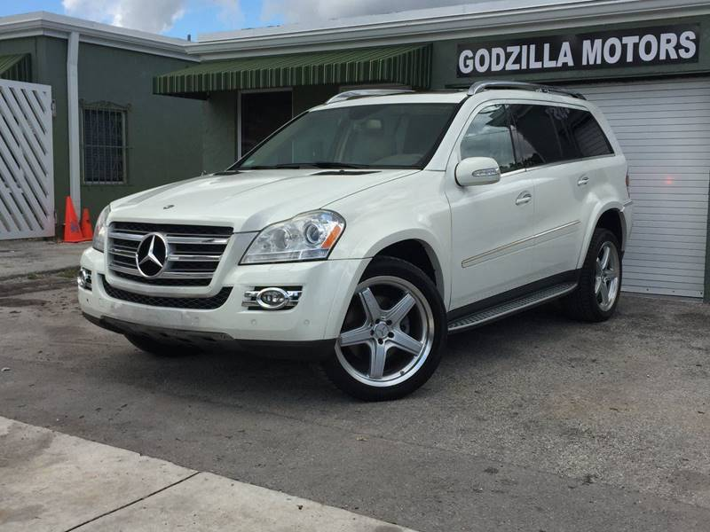 2008 MERCEDES-BENZ GL-CLASS GL550 4MATIC AWD 4DR SUV white running boards - step cargo tie downs