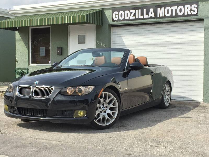 2009 BMW 3 SERIES 328I 2DR CONVERTIBLE black this one is ready to drive home and show off