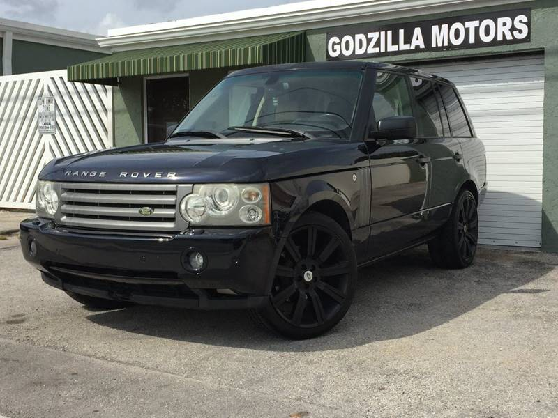 2008 LAND ROVER RANGE ROVER HSE 4X4 4DR SUV blue trailer hitch cargo tie downs skid plates a