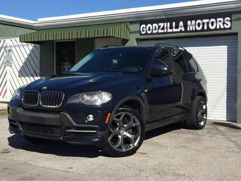 2007 BMW X5 30SI AWD 4DR SUV blue cargo tie downs rear spoiler air filtration - active charcoa