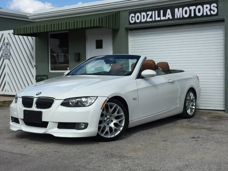 2008 BMW 3 SERIES 328I 2DR CONVERTIBLE SULEV white cargo tie downs grille color - chrome air fi