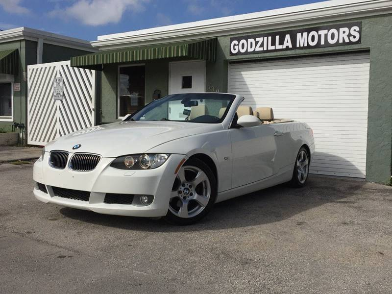 2009 BMW 3 SERIES 328I 2DR CONVERTIBLE SULEV white this one is ready to drive home and show off