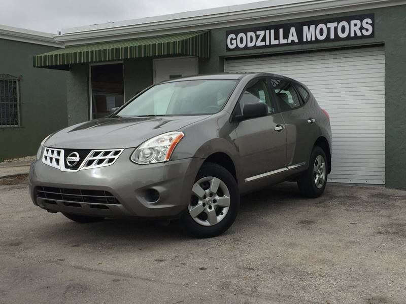 2014 NISSAN ROGUE SELECT S 4DR CROSSOVER brown rear spoiler - roofline body side moldings - chro