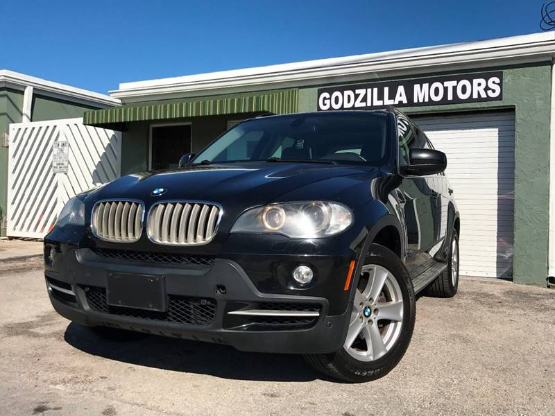 2008 BMW X5 48I AWD 4DR SUV black exhaust - dual tip cargo tie downs door handle color - body-