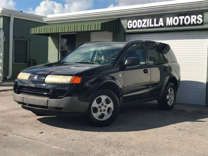 2004 SATURN VUE BASE FWD 4DR SUV black front air conditioning center console power steering st