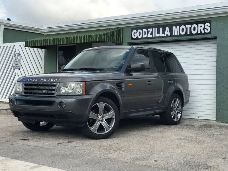 2006 LAND ROVER RANGE ROVER SPORT HSE 4DR SUV 4WD gray rear spoiler air filtration floor mat ma