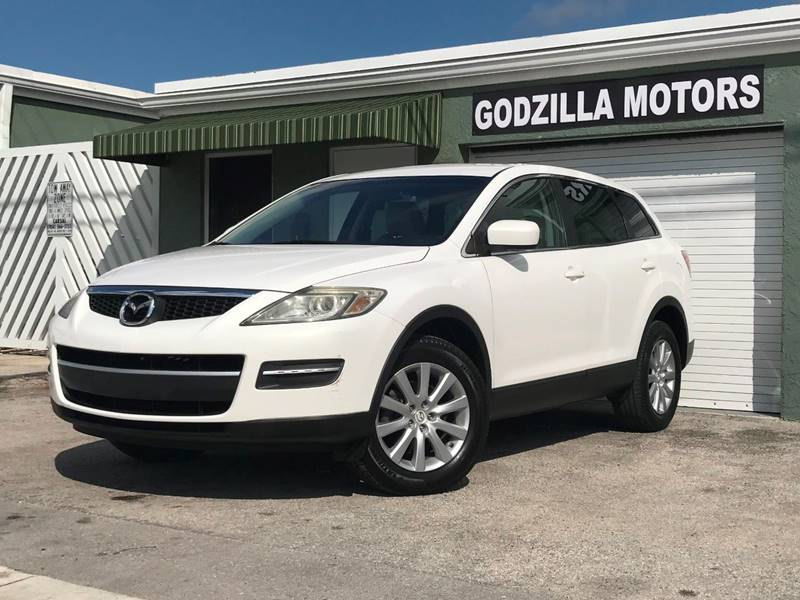 2009 MAZDA CX-9 GRAND TOURING 4DR SUV white this one is ready to drive home and show off   d