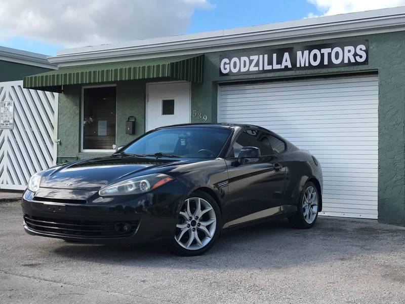 2008 HYUNDAI TIBURON SE 2DR HATCHBACK black this one is ready to drive home and show off   d